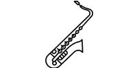 MUSIC PARK 6 - saksofon