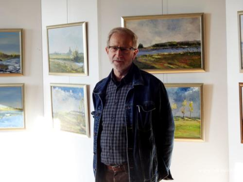 Wernisaż wystawy malarstwa Tadeusza Blicharza